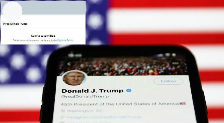 Bloquea Twitter cuenta de Donald Trump ¡para siempre!
