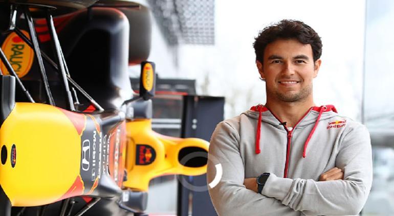 """""""Hola, Red Bull Racing"""": comparten primeras imágenes de Checo Pérez"""