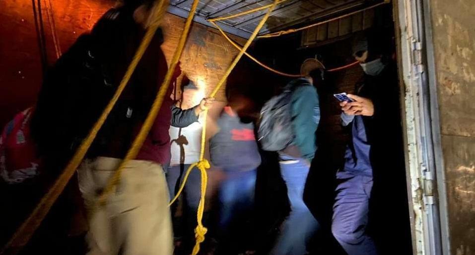 Guardia nacional rescata a 100 migrantes en Xalapa