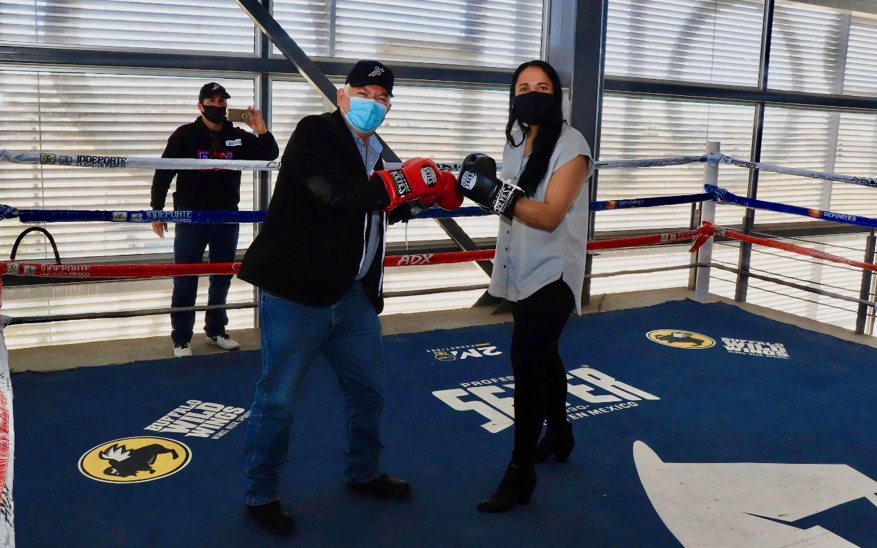 Entrega Alcalde de Cuauhtémoc el Centro de Entrenamiento y Enseñanza de Boxeo