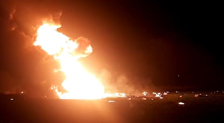 Explosión en toma clandestina de Pemex dejó un muerto en Querétaro