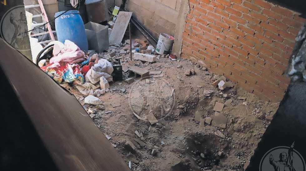 Buscaban a desaparecido; estaba enterrado en su vivienda