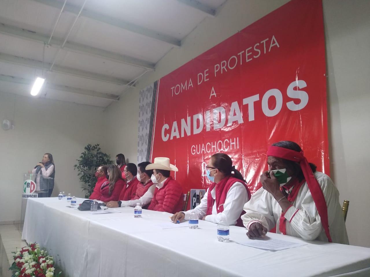 Pepe Yáñez y Dayra González ya son Candidatos Oficiales del PRI en Guachochi