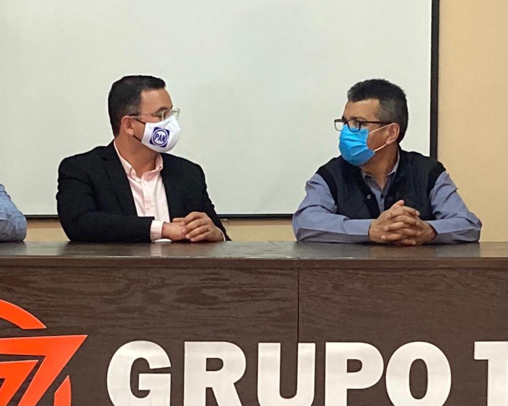 Se reúne Pancho Salcido con Marco Bonilla