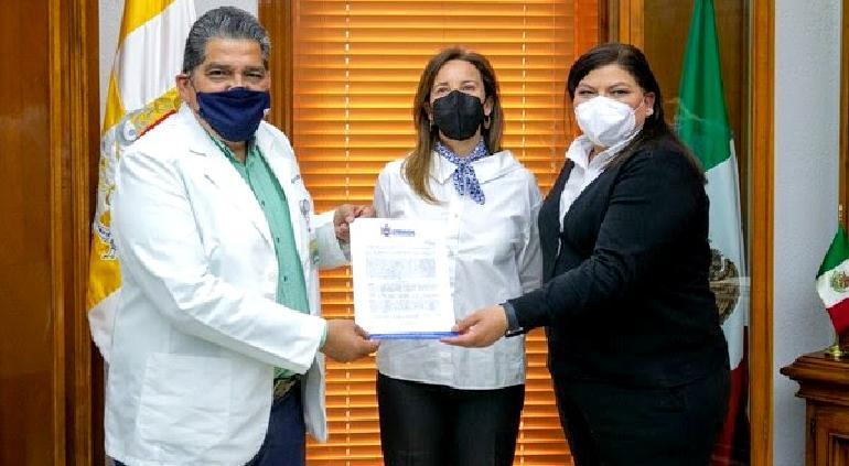 Dona Municipio terreno para nuevo hospital en Chihuahua