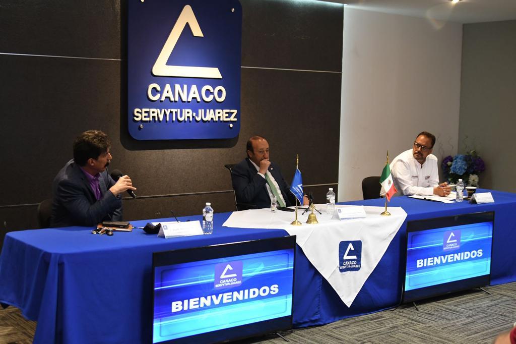 Juan Carlos Loera comprometido a realizar acciones concretas ante necesidades de empresarios chihuahuenses