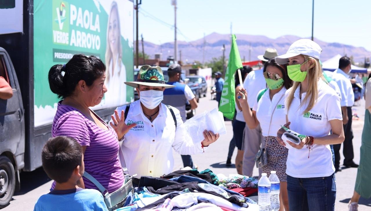 """""""Atención integral a las mujeres con 5 acciones fundamentales"""": Paola Arroyo"""