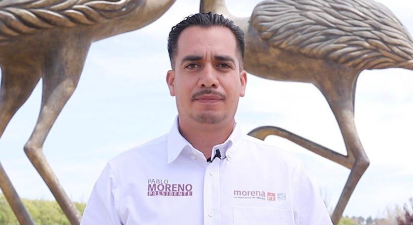 """""""Es momento de dar opciones a las familias para que mejoren sus ingresos"""": Pablo Moreno."""