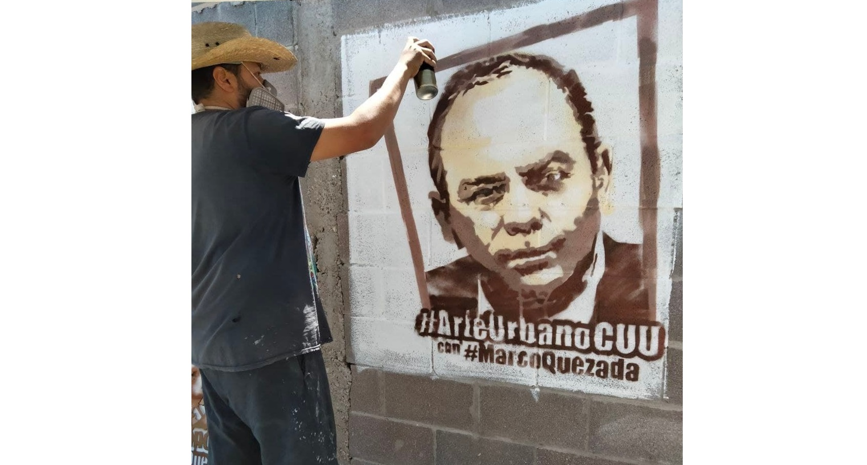 Artistas urbanos se suman al proyecto de Marco Quezada