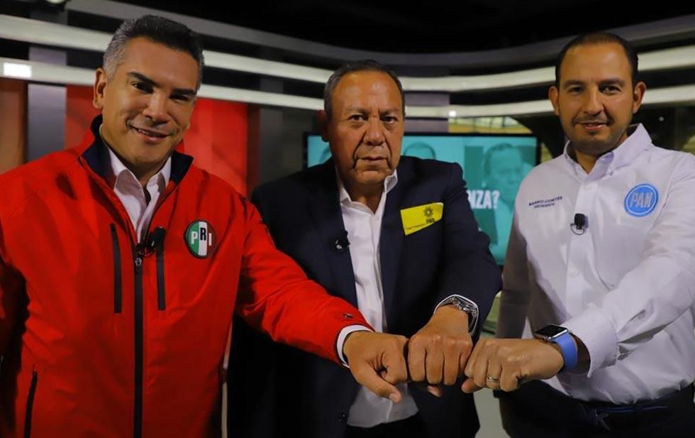 Dice Va por México 'no' a iniciativas de AMLO