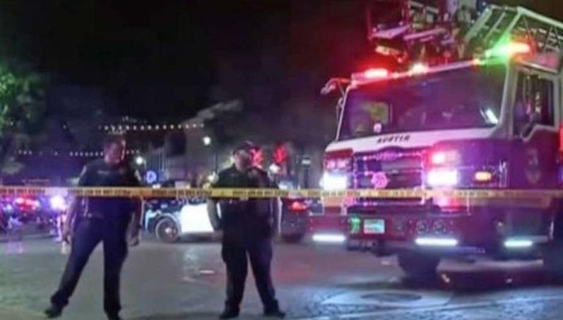 Deja 13 lesionados tiroteo en el centro de Austin