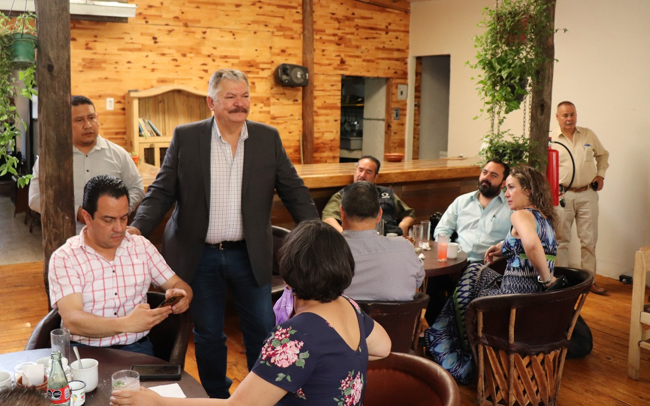 Reitera Alcalde de Cuauhtémoc apertura y transparencia para medios de comunicación