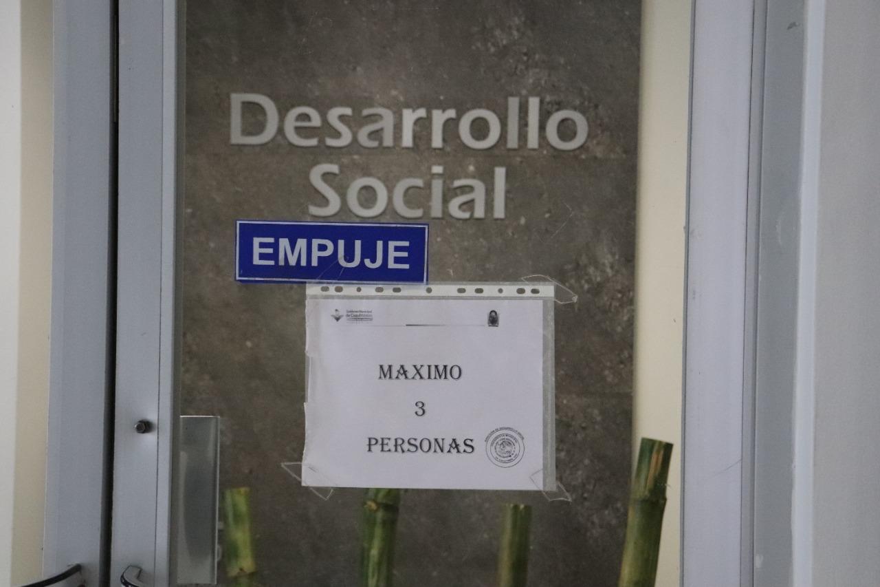 Cuauhtémoc > Emplaza Desarrollo Social a beneficiarios de terrenos a pagar anticipo