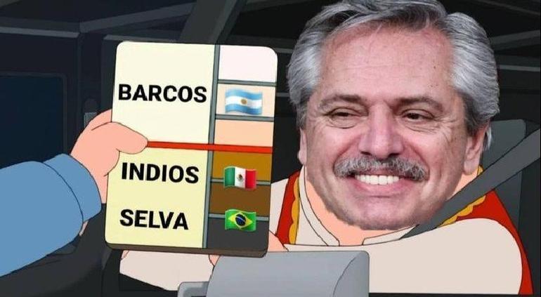 """Mexicanos vienen de indios""; Presidente de Argentina recibe memes"
