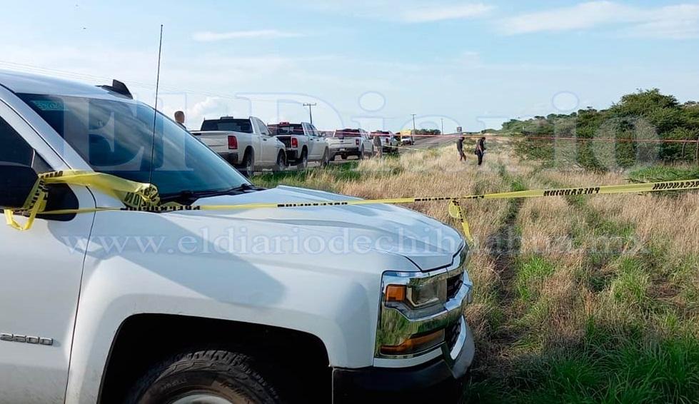 Encuentran una persona sin vida en la carretera Parral-Chihuahua.
