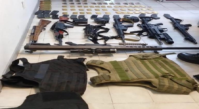 Informará SEDENA sobre arsenal que robaron en La Boquilla