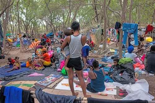 """""""Horroriza"""" en EU el maltrato a haitianos en Del Río, Texas"""