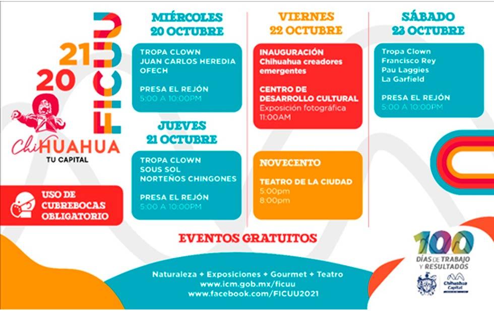 Disfruta actividades del FICUU en presa El Rejón a partir de mañana