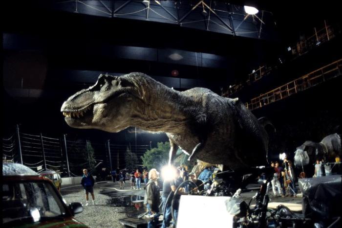 Animatronic de T-Rex utilizado en Jurassic Park