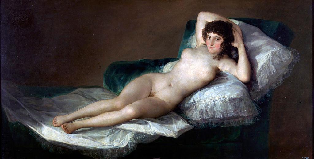 Francisco de Goya - La Maja Desnuda (1790-1800)