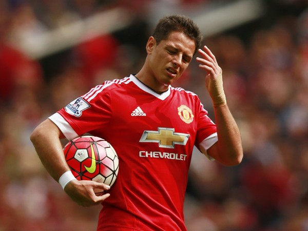 Chicharito en el Manchester United