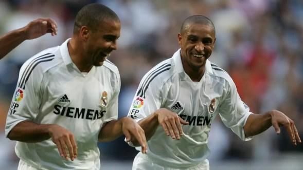 """Roberto Carlos: """"J'ai plus dormi avec Ronaldo qu'avec ma femme"""""""