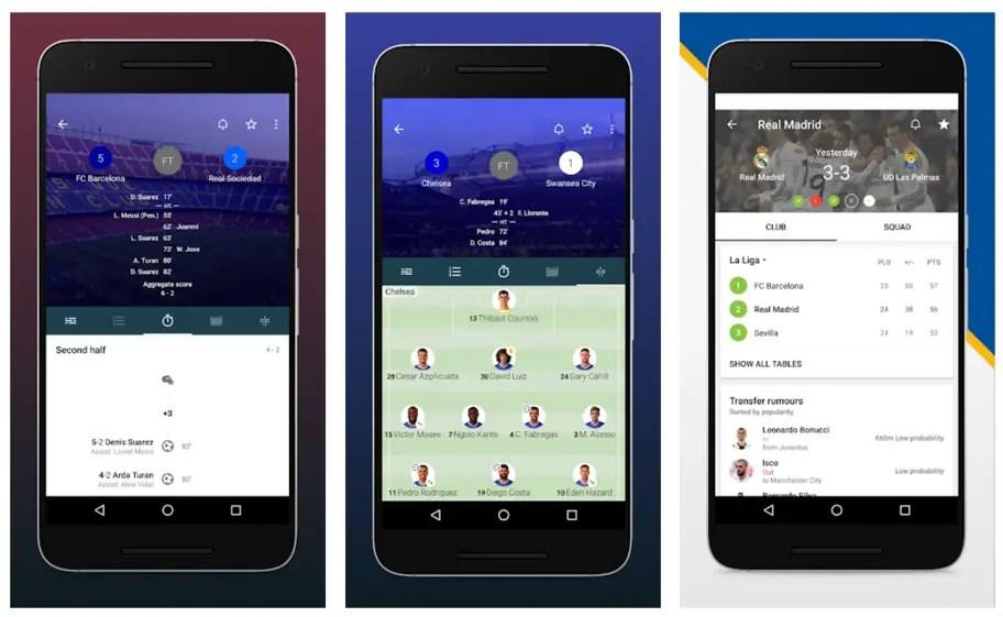 Aplicación Forza Fútbol