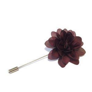 Lapel flower mørk lilla