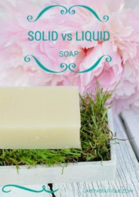 Soapbar vs Liuquid soap