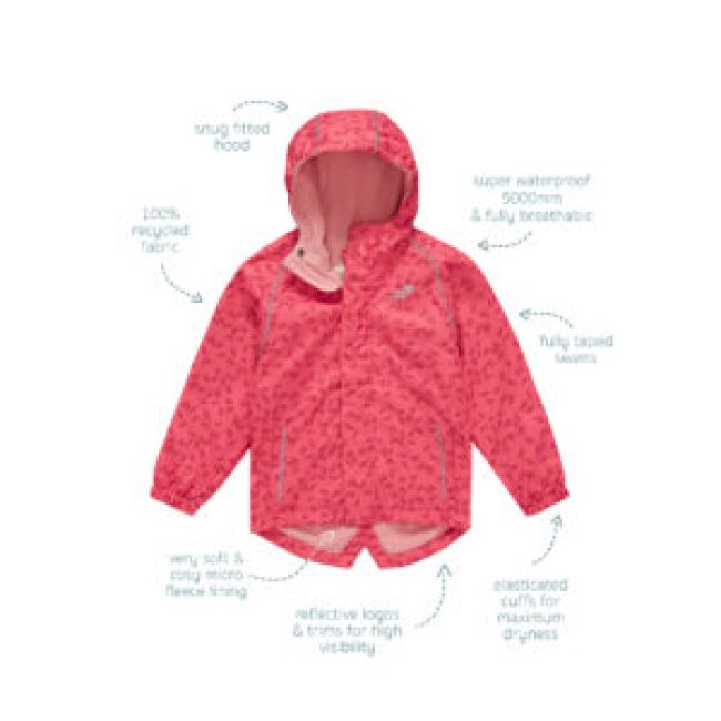 Kids Style | EcoSplash Jacket for Spring splashing 16