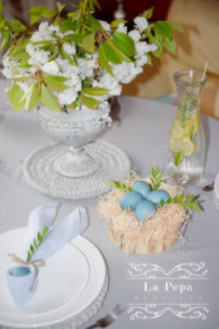 Eco Easter | Table Styling and Decor ideas 15