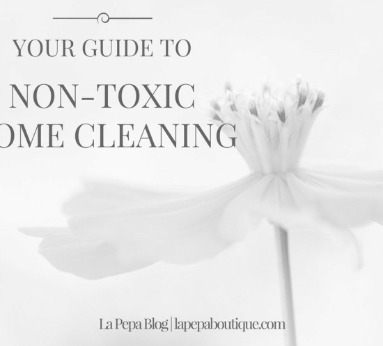 Your Guide to NON TOXIC HOME CLEANING