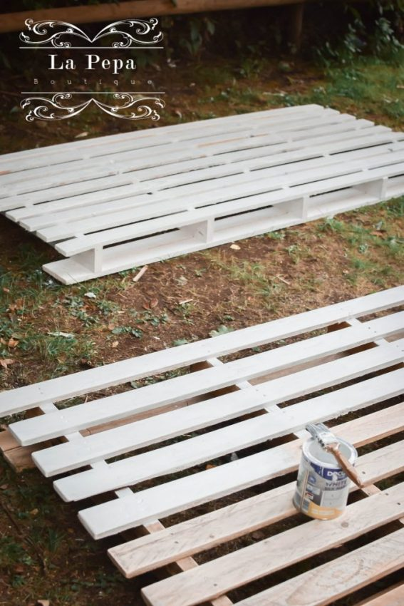 Upcycle   How I Made My Pallet Bed