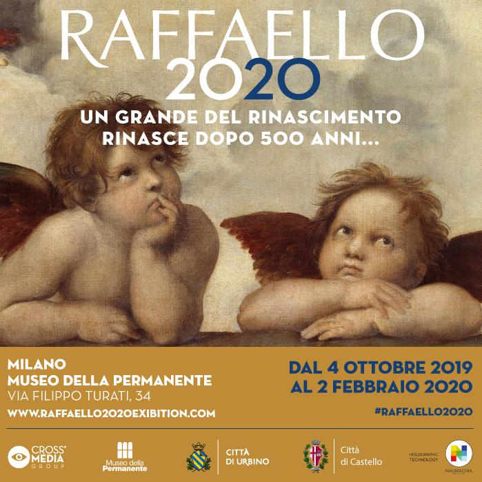Risultati immagini per RAFFAELLO 2020 - Museo della Permanete, Milano