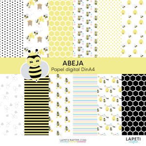 papel digital abeja