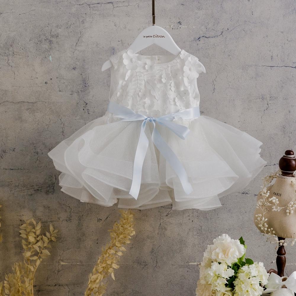 la petite Citron Flower Girl Dress 檬果澎澎裙 花童禮服 寶寶禮服 Zoe-02-1
