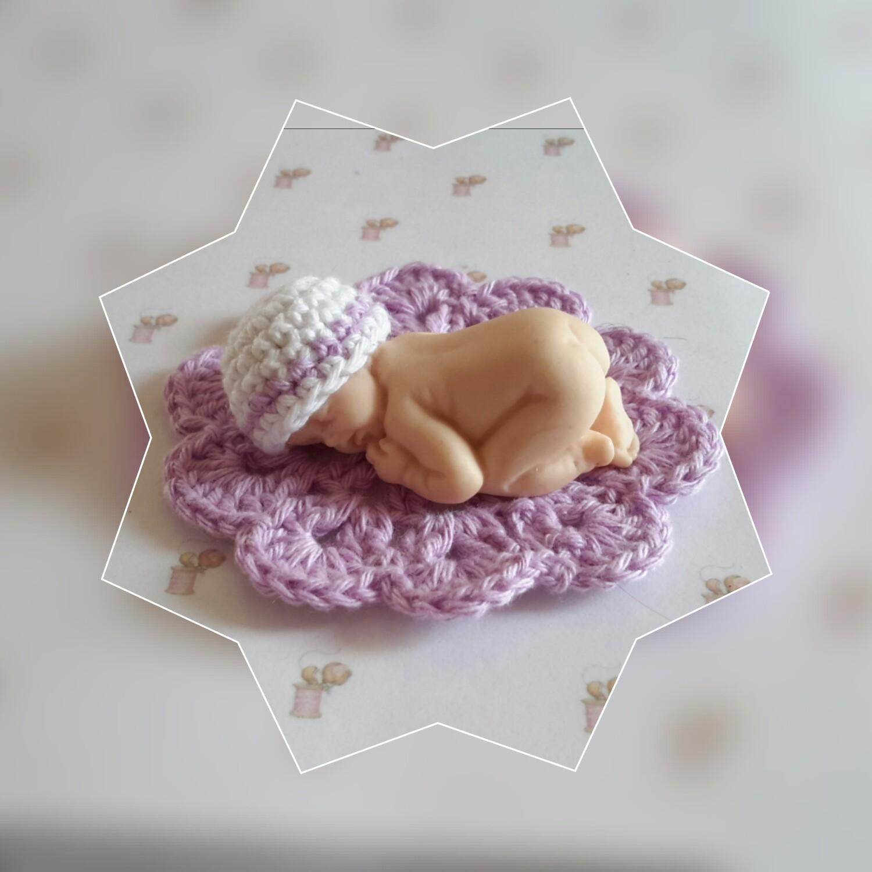 mini bonnet tapis bebe fimo