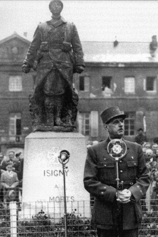 Speech of General de Gaulle
