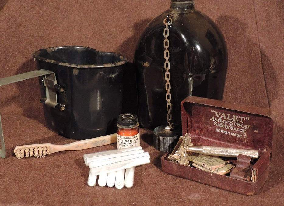 The water purification during the war with hypochlorite