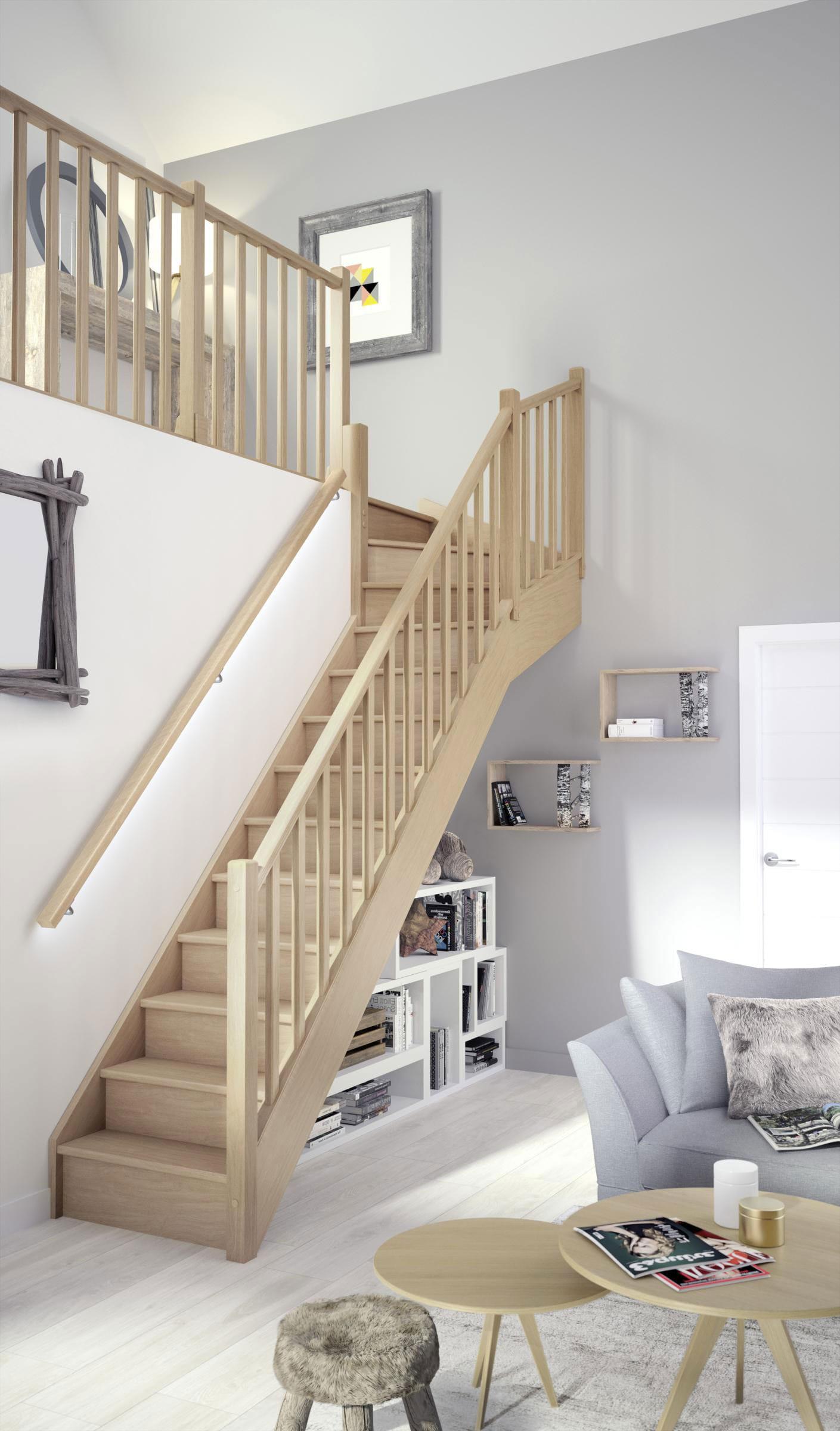 Bien Choisir Votre Escalier En Bois Nos Conseils Lapeyre