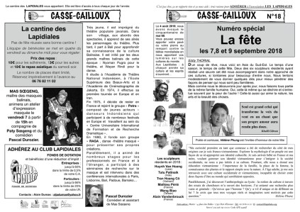 CASSE-CAILLOUX n°18