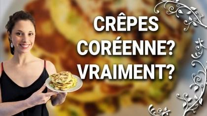Recette Crêpes Coréennes en vidéo