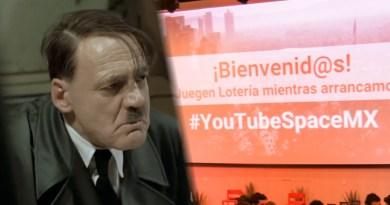 Hitler se entera que no fue invitado al  Pop-Up #YoutubeSpace
