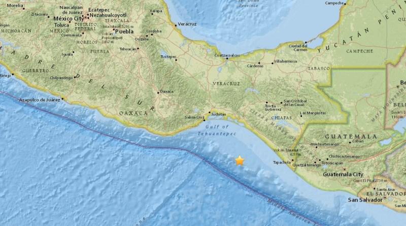 #Temblor: Sismo de Magnitud 8.0 se deja sentir hasta la CDMX