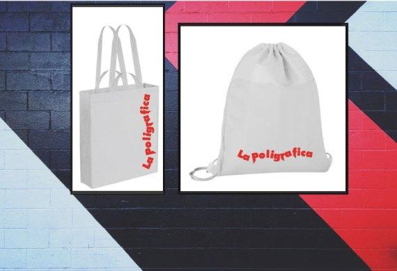 Shopper e zainetti personalizzati