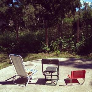 Safe Backyard facind the jungle © Kate Zidar