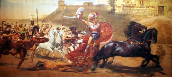 Franz Matsch - Triumph of Achilles