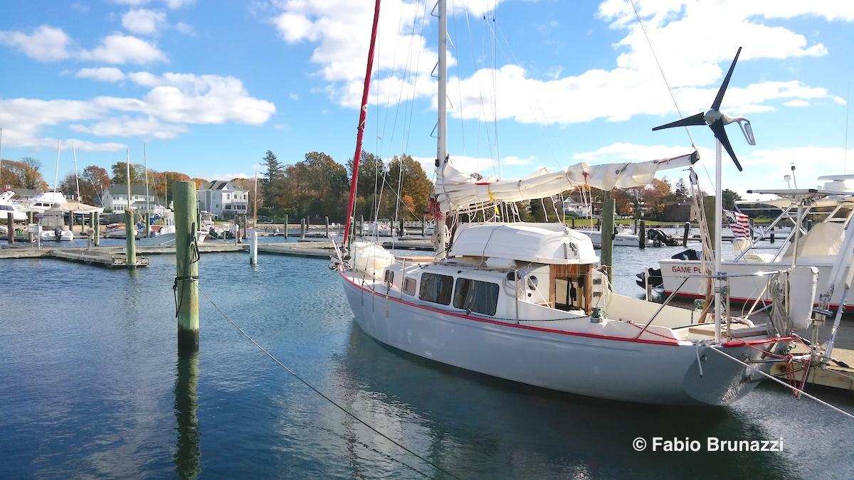 A sailing pilgrimage