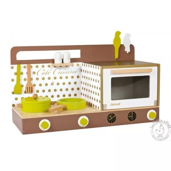 cuisine-en-bois-cookinette-chic-avec-accessoires-janod – la poule