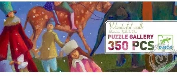 Puzzle Gallery Promenade Merveilleuse 350 pièces - Djeco